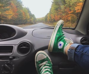 autumn, indie, and teenager image