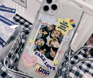 aesthetic, phone case, and bts image