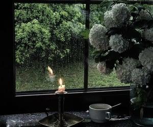 candle and window image