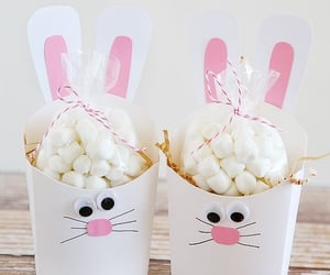 candy, bunny, and easter image