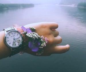 clock, вода, and нежность image