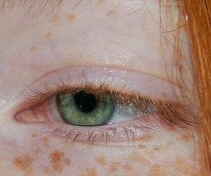 green, eyes, and hair image