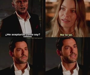 lucifer, netflix, and serie image