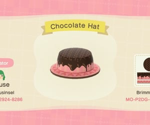 animal crossing, chocolate, and designs image