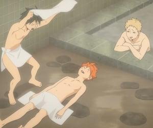 anime, hinata, and tsukishima image