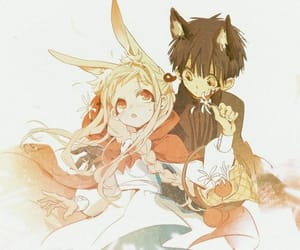 red riding hood, jibaku shounen hanako kun, and anime couple image