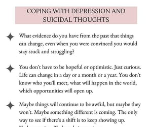 curious, unapologetic, and suicidal thoughts image