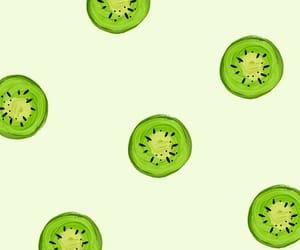 green, kiwi, and wallpaper image