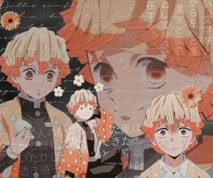 anime, theme, and yellow image