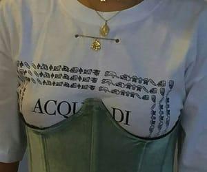 corset, fashion, and green image