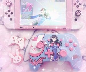 game, nintendo, and pink image