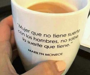 coffe and Marilyn Monroe image