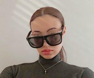 black, glasses, and shades image