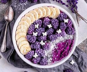 banana, blackberry, and blueberry image