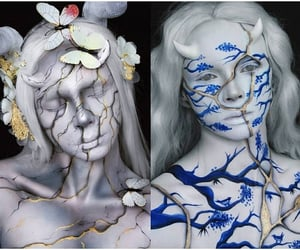 belleza, body painting, and corporal image