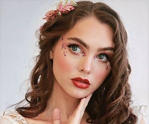 angel, blush, and curls image