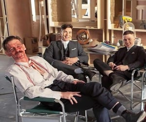 cillian murphy, paul anderson, and thomas shelby image