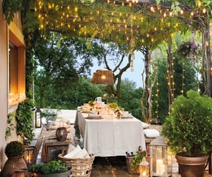 inspiration, outdoor living, and outdoor lighting image