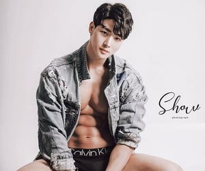 asian, Hot, and male image