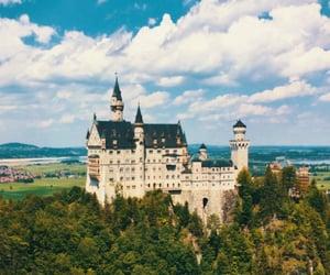 bavaria, blue sky, and castle image
