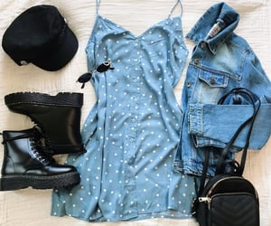 blue, moda, and trend image