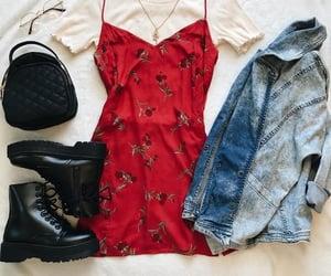 dress, look, and moda image