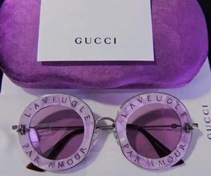 gucci, rich, and sunglasses image