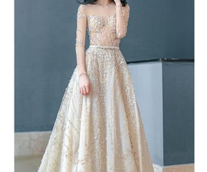 Couture, dress, and glamour image