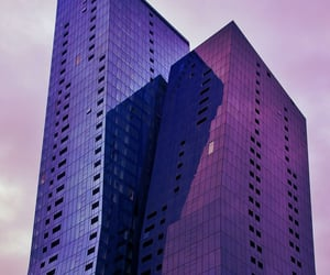 architecture, buildings, and purple image