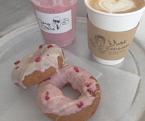 food, aesthetic, and donuts image