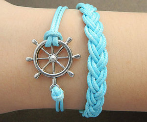 blue, bracelet, and accessories image