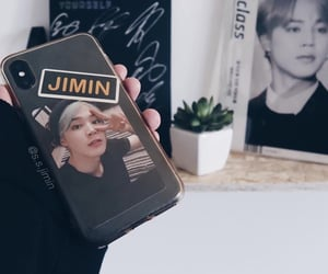 phone case, jimin, and bts image
