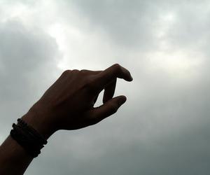 carol, hand, and man image