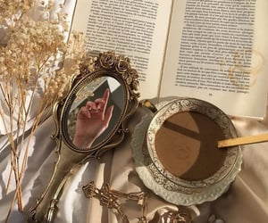 book, aesthetic, and mirror image