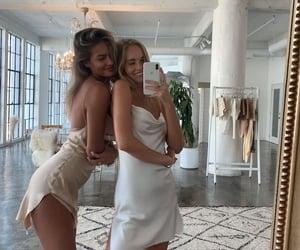 fashion, friends, and dress image