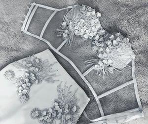 bra, grey, and pretty image