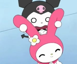 anime, cartoon, and hello kitty image
