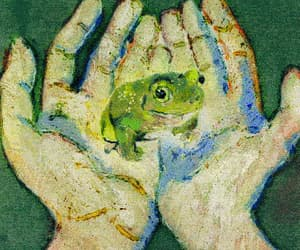 frog, gif, and cute image