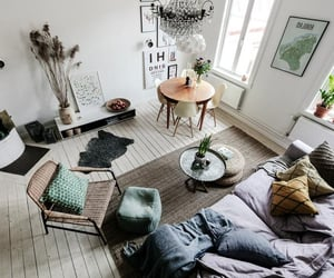 apartment, grey, and home image