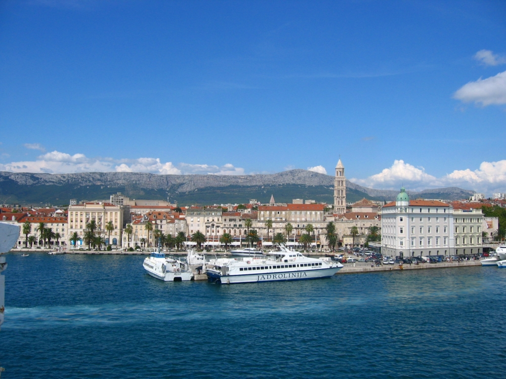 split, ferry, and ship image
