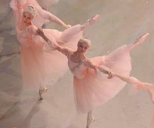 ballet, girl, and pink image