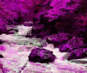 art, colourful, and flowing image