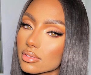 beautiful, beauty, and brown girl image