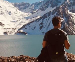 backpack, chile, and travel image