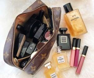 makeup, chanel, and lipstick image