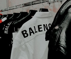 fashion, Balenciaga, and jacket image