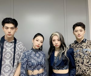 april, bm, and somin image