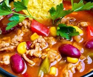 dinner, tacos, and crock pot image