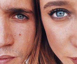 blue, eyes, and occhi image
