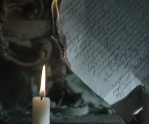 aesthetic, candle, and heart image